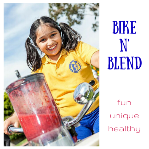 Fundraising Mums introduces Bike n' blend