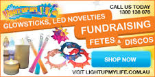 buy glowsticks and LED novelties for your next fundraiser