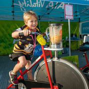 Fundraising Mums introduced Bike'n'Blend