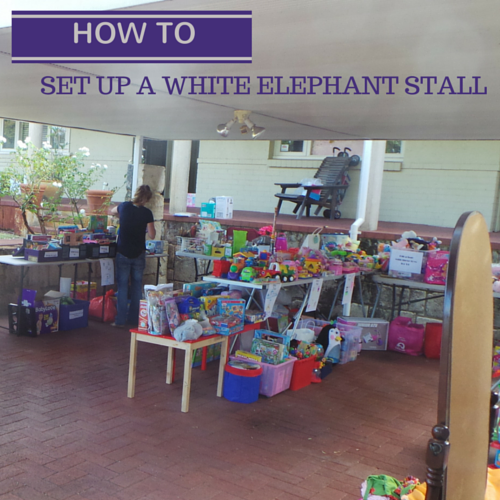 Helpful tips to setting up a successful garage sale