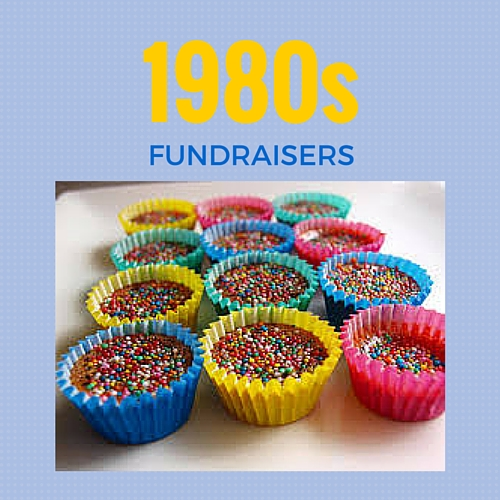 Do you remember these fundraisers from the 1980s