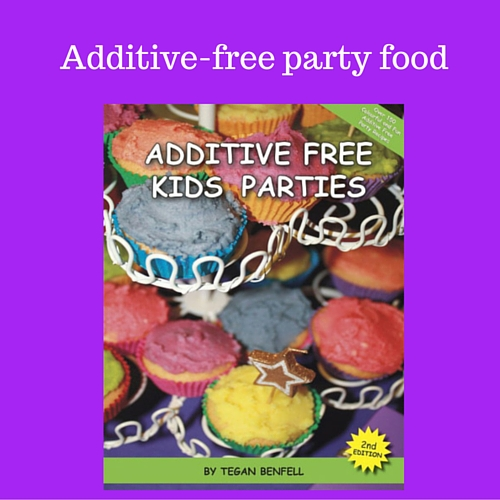Recipes for additive free party food