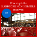 How to get non-helpers involved with fundraising