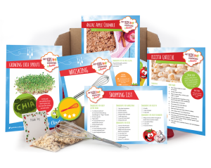 What you will find in your monthly subscription from Get Kids Cooking