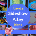 Simple sideshow alley games for your fete | Fundraising Mums