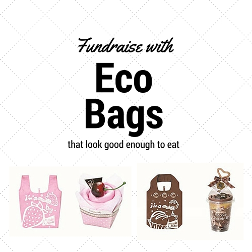 Uni cake eco bag fundraisers