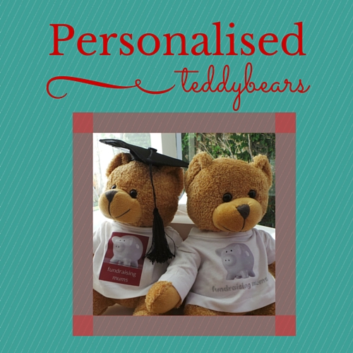Personalised teddy bears from Dress My Bear