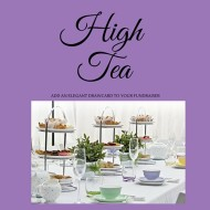 High Tea Fundraisers (Perth)