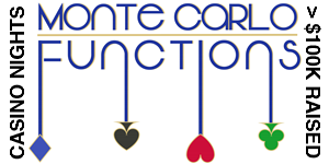Raise money with Monte Carlo casino nights