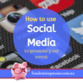 Using social media to promote your event | Fundraising Mums