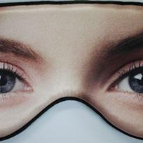 Open eye sleeping mask