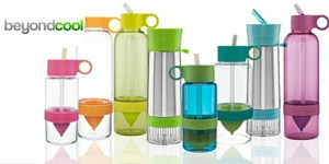 Infuse your water with excitement with Citrus Zinger Bottles