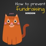 How to prevent fundraising boredom
