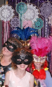 Kids love dressing up in a photo booth