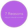 7 reasons why you should volunteer