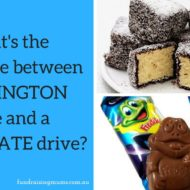 What is the difference between 'Lamington' and 'Chocolate' style fundraisers?