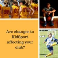 Are KidSport Changes Affecting Your Club?