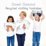 Closet Cleanout – clothing recycling fundraiser