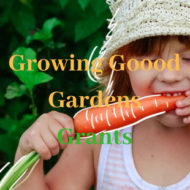 Growing Good Gardens Grants – Open Now