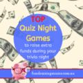Top Quiz Night Games to raise extra money | Fundraising Mums