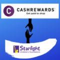 Cashrewards partnering with Starlight Foundation | Fundraising Mums