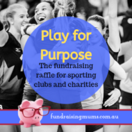 Play for Purpose – the Fundraising Raffle for Sporting Clubs and Charities