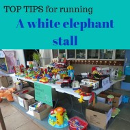 Top Tips When Running a White Elephant Stall