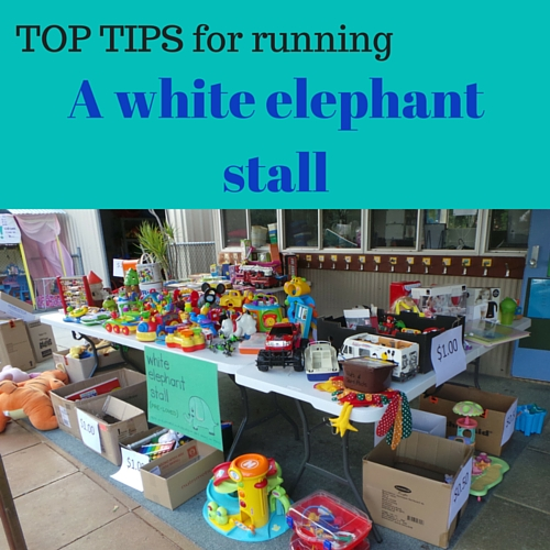 Essential tips for running a second hand stall | Fundraising Mums