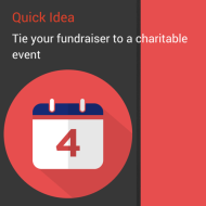 Quick Idea: The National Calendar – Tie Your Fundraiser into Something Bigger