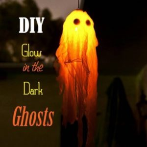 Make a glow in the dark ghost