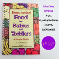 Fundraising Mums special offer with babies cookbook