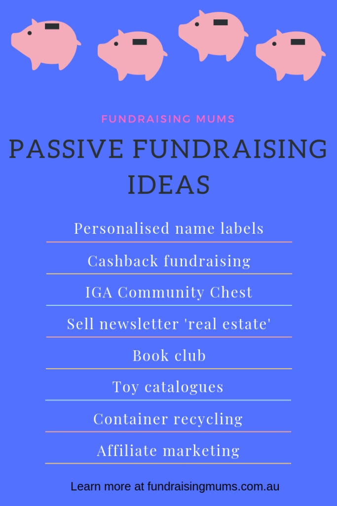 Passive fundraising ideas for Aussie schools and clubs | Fundraising Mums