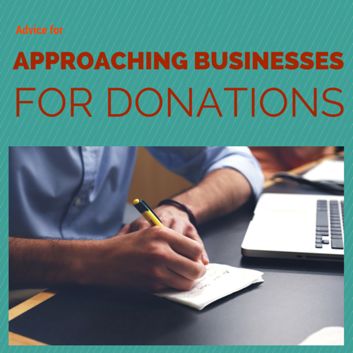 How to get donations from businesses
