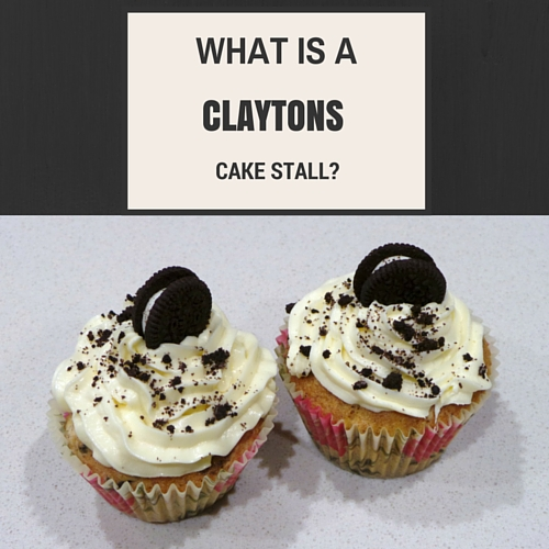 What is a Claytons cake stall?