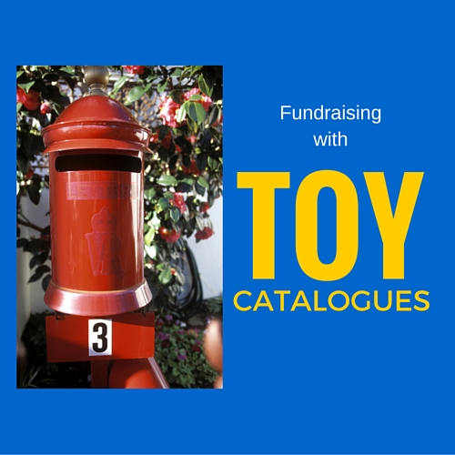 Raise money with toy catalogues