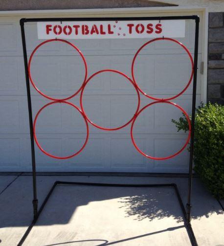 Football or beanbag toss