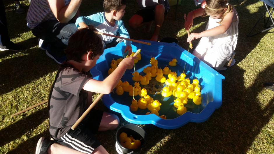 The Duck Game or Fishing Game | Fundraising Mums