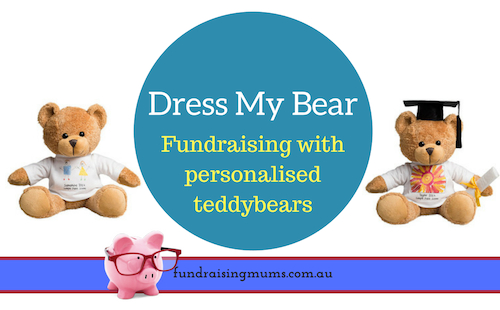 Fundraising with personalised teddy bears | Fundraising Mums