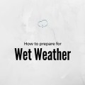 Wet weather contingency plans for school fundraisers