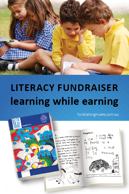 Literacy fundraisers - earning while learning | Review by Fundraising Mums