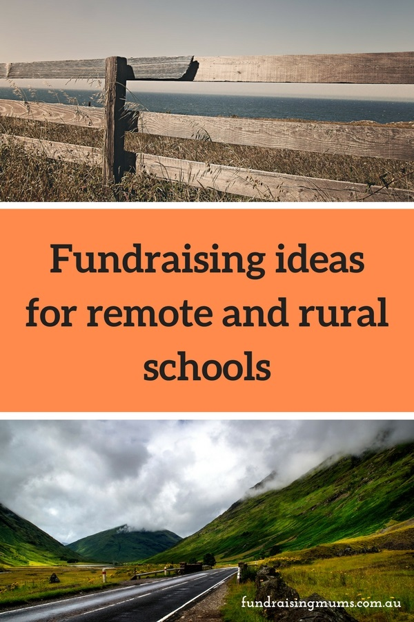 Fundraising ideas perfectly suited for remote and rural schools