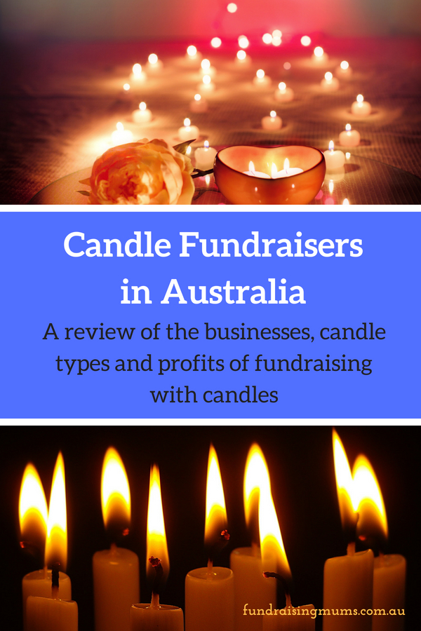 Fundraising with candles in Australia | Review of the businesses offering great products and profits | Fundraising Mums