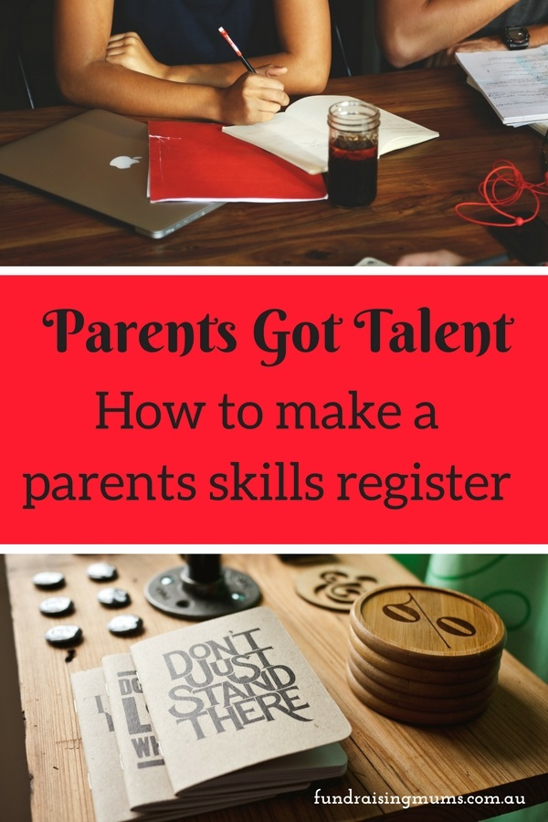 How to make a parent skills register | Find help when you need it | Fundraising Mums