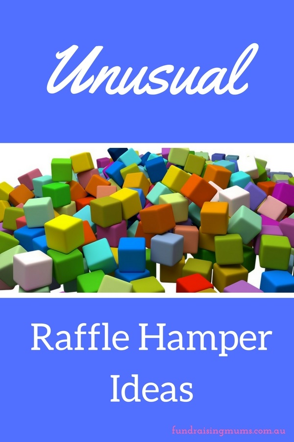 Unusual and interesting raffle hamper ideas | Fundraising Mums