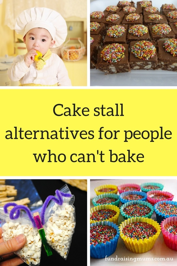 Cake Stall Alternatives For People Who Can T Bake