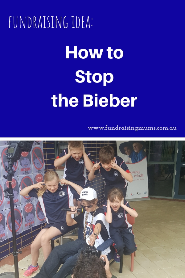 Unusual fundraising idea | Bieberthon | Fundraising Mums