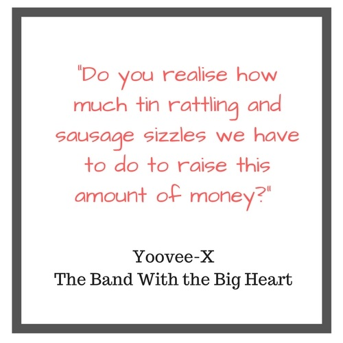Youvee-X | Meet the Band | Fundraising Mums