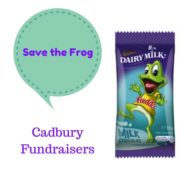 Save the Frog:  Cadbury Fundraisers