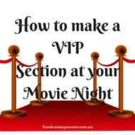 How to make a VIP section at your movie night
