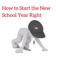 How to Start The New School Year Right